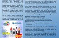 CONADI REALIZA GUÍA DE PROTECCIÓN PARA LAS PERSONAS CON DISCAPACIDAD ANTE EL COVID 19