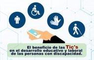 Las Tic´s y las personas con discapacidad durante la pandemia