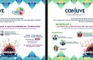 WEBINARIOS EN CONMEMORACIÓN AL DÍA NACIONAL  DE LA JUNVENTUD