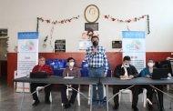 Presentan Federación de Ciegos de Guatemala en el marco del I Congreso de Personas con Discapacidad Visual.