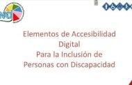 Colaboradores del CONADI fortalecen sus conocimientos en Formatos Accesibles de Información