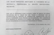 UNE A CARGO DE LA COMISIÓN DE DISCAPACIDAD 2021 EN EL LEGISLATIVO