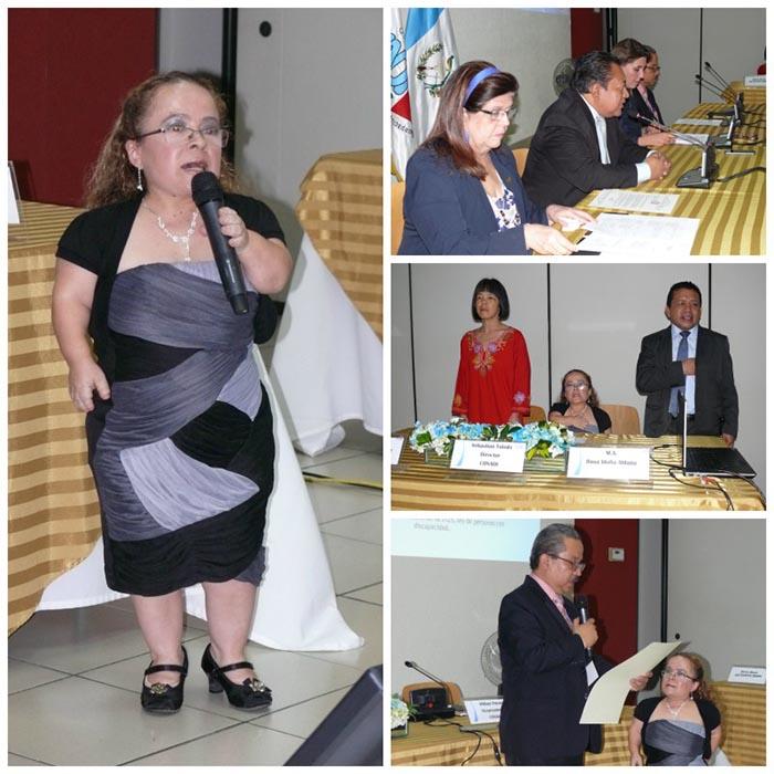 Presentan a representante de Guatemala para postularse al Comité de Expertos en Discapacidad de la ONU