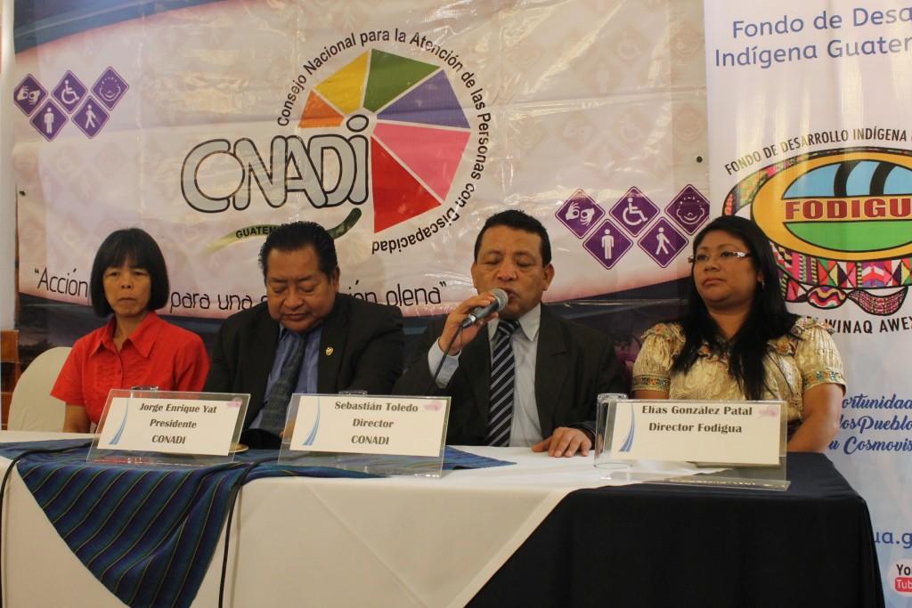 Lanzamiento del Encuentro de Líderes Indígenas con Discapacidad.