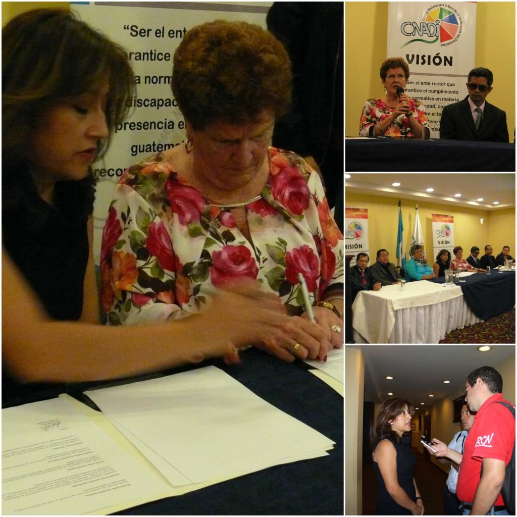 RIADIS e ICEVI Latinoamerica firman convenio sobre acceso a la Educación de las Personas con Discapacidad