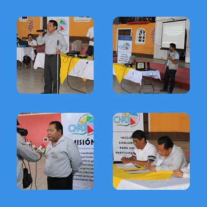 San Jeronimo B.V. suscribe convenio con el CONADI