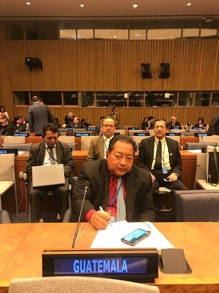 Guatemala presenta informe sobre Discapacidad en Naciones Unidas