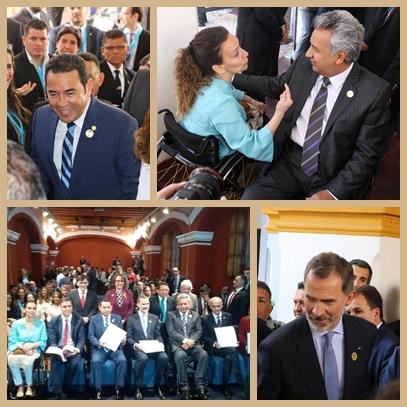 Presentación del programa iberoamericana sobre discapacidad