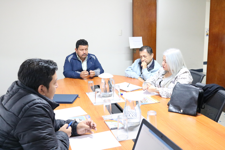 Reunión en CONADI