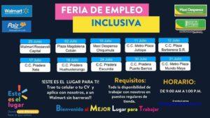 Feria de Empleo inclusiva