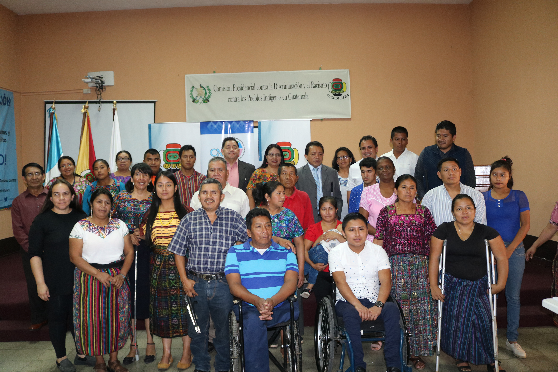40 Líderes se empoderan en temas de derechos de personas indígenas con discapacidad
