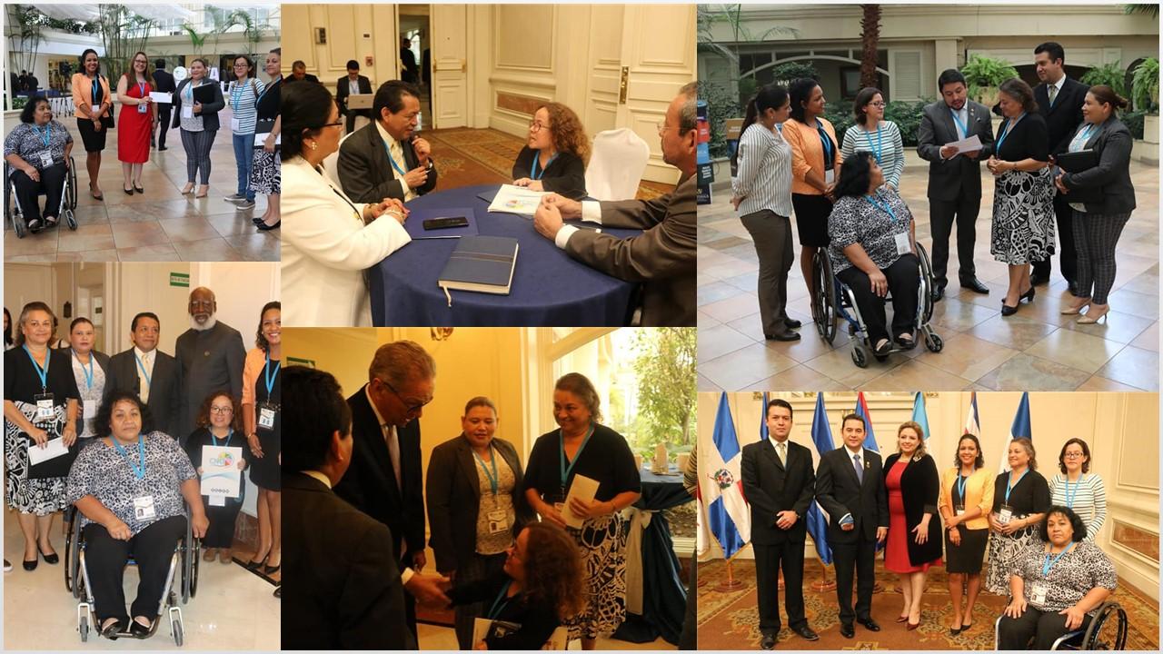 Promueven la creación del Comité de Entes de Discapacidad de Centroamérica y República Dominicana