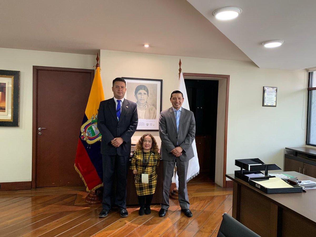 Guatemala y Ecuador se unen para tratar asuntos sobre discapacidad