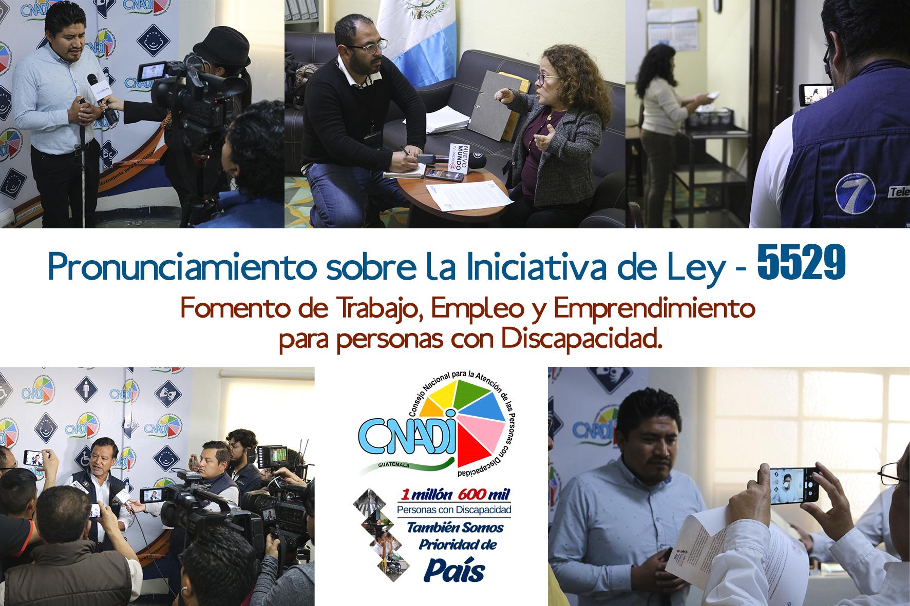 EL CONADI PROMUEVE EL AVANCE DEL PROYECTO DE LEY LABORALEN BENEFICIO DE LAS PERSONAS CON DISCAPACIDAD