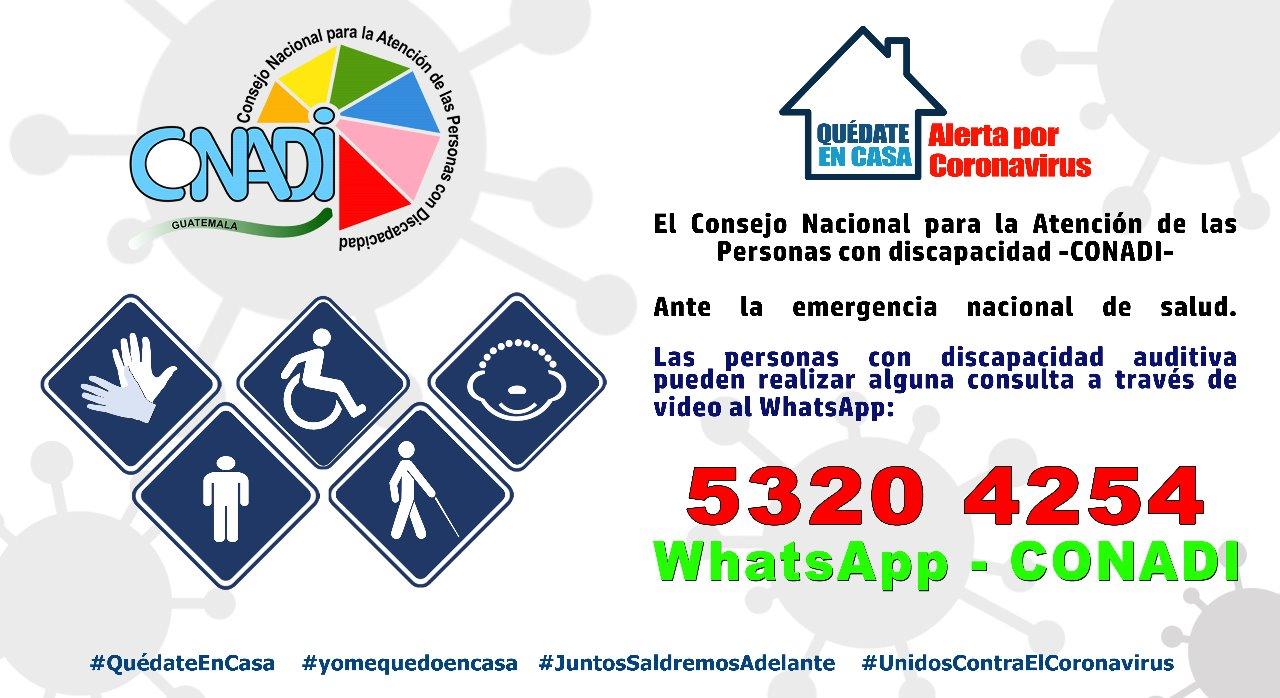INCLUSIÓN DE LAS PERSONAS CON DISCAPACIDAD EN PLANES DE APOYO ANTE EL COVID 19