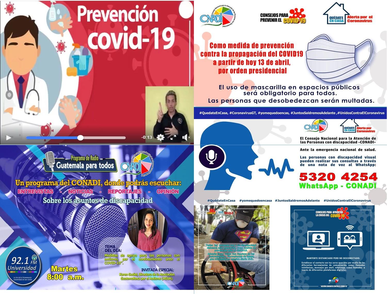 ACCIONES INSTITUCIONALES ANTE EL COVID-19