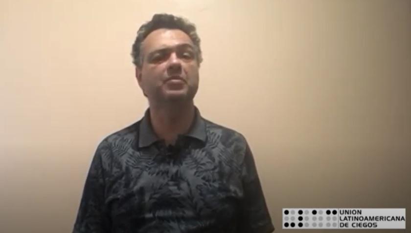 Carlos Ferrari, experto en Tiflotecnologia de la ULAC