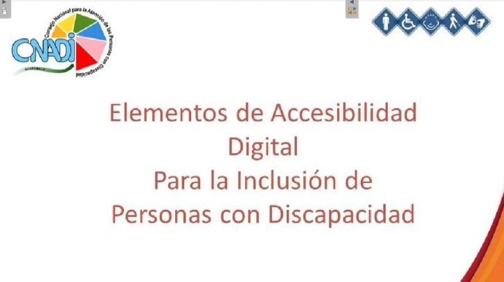 Capacitación de Formtaos Accesibles Digitales
