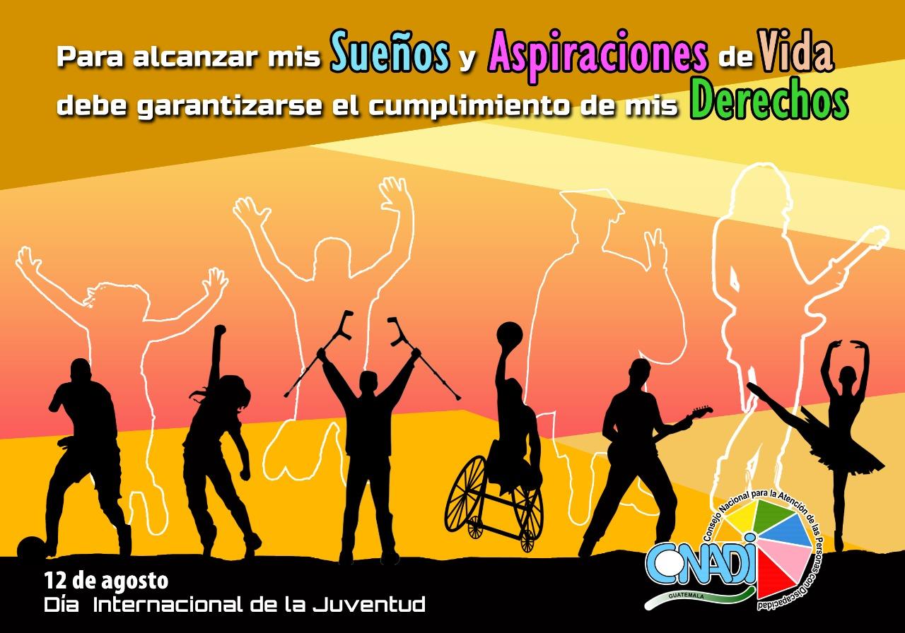 CONADI y CONJUVE, visibilizan demandas de jóvenes con discapacidad, en el marco del Día de la Juventud