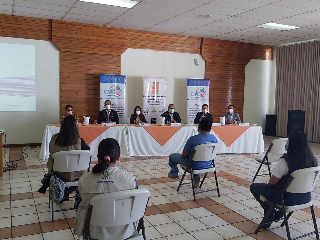 Lanzamiento en Sololá del proyecto rATA