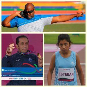 Para-atletas nacionales